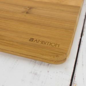 bambusowa deska na prezent