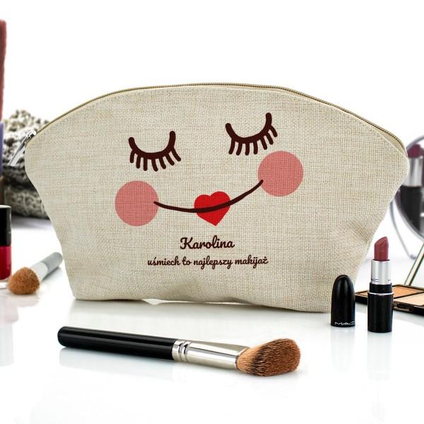 kosmetyczka z nadrukiem najlepszy makijaż na prezent dla dziewczyny