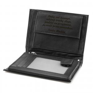 portfel męski skórzany z grawerem cavaldi elegance na prezent na rocznicę ślubu
