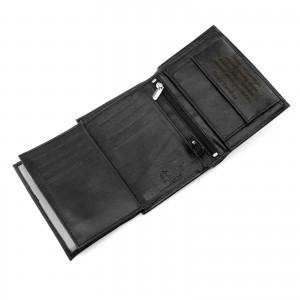 prezent dla niego portfel skórzany męski z dedykacją calavdi elegance