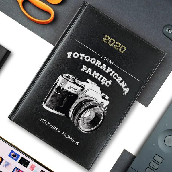 kalendarz z własnym nadrukiem fotograficzna pamięć