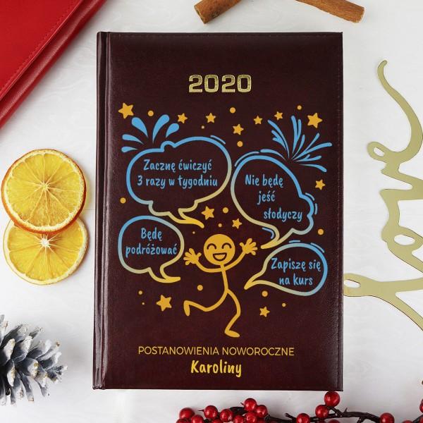 sperosnalizowany kalendarz książkowy