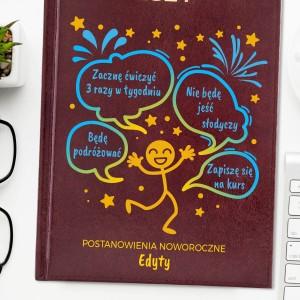 kalendarz z dowolna deykacja na prezent