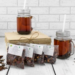 słoiki do herbaty na prezent