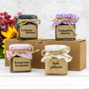 mini konfitury na prezent dla dziadków