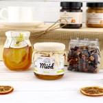 syrop z miodem i herbatą na upominek dla babci
