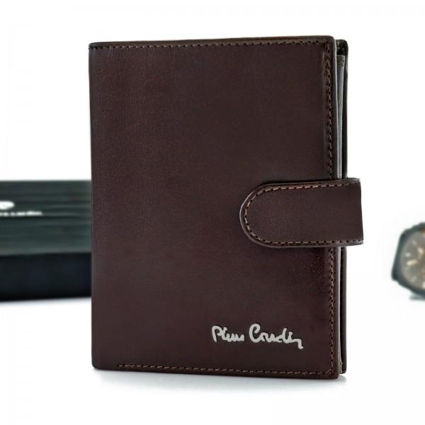 brązowy portfel męski Pierre Cardin na prezent
