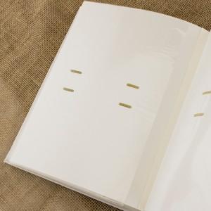album na zdjęcia biały na prezent