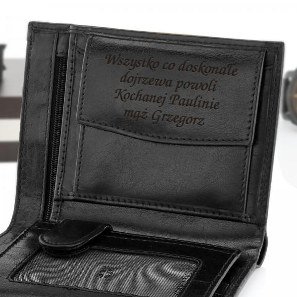 0e30d73e25cbc portfel męski skórzany. portfel na prezent
