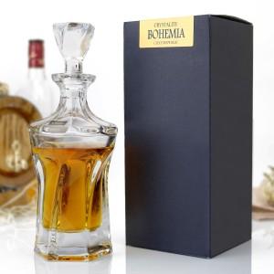 karafka do whisky bohemia na upominek
