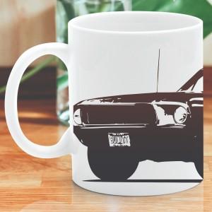 kubek z autem i imieniem na prezent urodzinowy