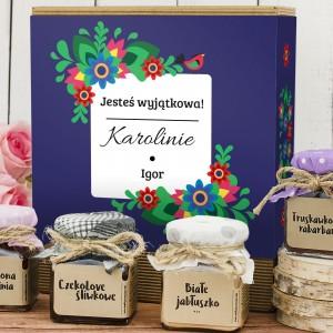 konfitury prezentowe Delicje na prezent dla niej