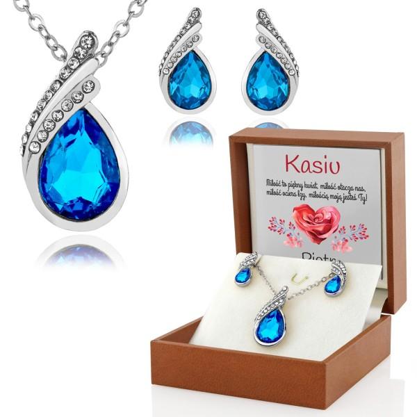 Biżuteria damska komplet dla kobiety