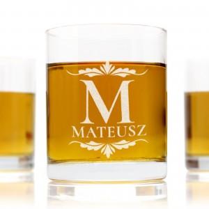 Szklanki do whisky z grawerem smakosz na upominek dla niego