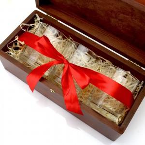 Ekskluzywny zestaw szklanek do whisky Smakosz na prezent dla niego