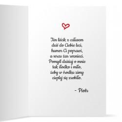 kartka z życzeniami dla dziewczyny