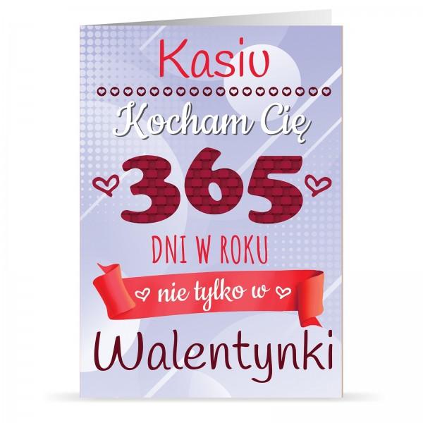 kartka na walentynki dla niej 365 Dni
