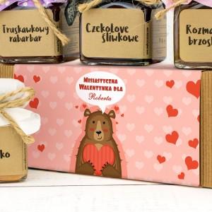 konfitury prezentowe Misiastyczna Walentynka na pomysł na prezent na walentynki