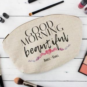 kosmetyczka z imieniem Good Morning Beautiful na upominek dla niej