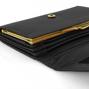 skórzany portfel damski na prezent