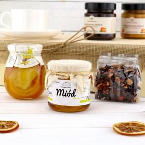 naturalne konfitury i miód na prezent