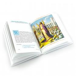 ilustrowana biblia dla dzieci na prezent na chrzest Niebieska Opoka