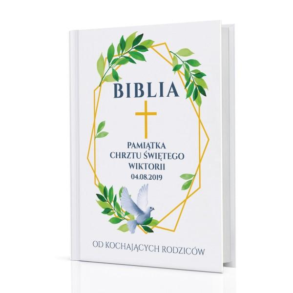 biblia dla dzieci na chrzest na prezent Pamiątka Chrztu Świętego