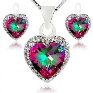 komplet biżuterii talizman miłości