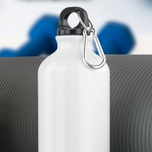 biały bidon z opcją własnego nadruku