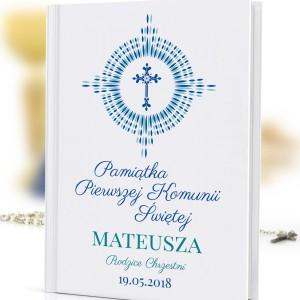 prezent na komunię dla chłopca biblia z nadrukiem Nowe Przykazania