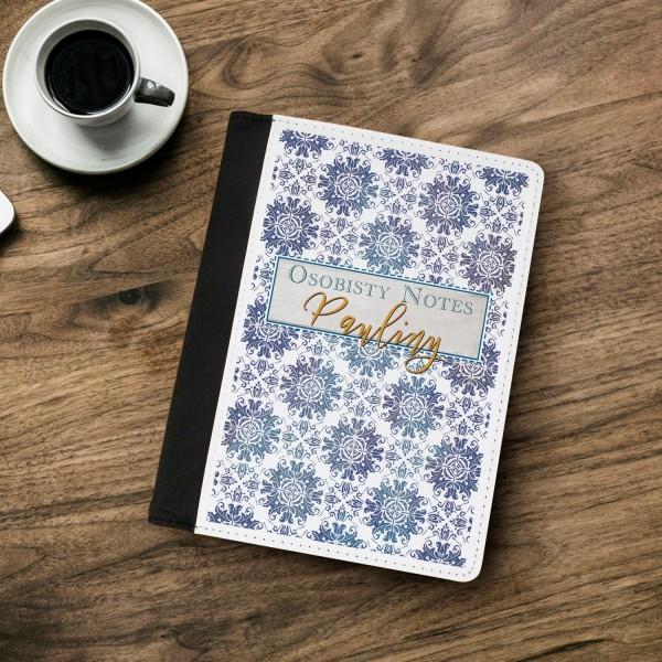 notatnik z własnym nadrukiem na okładce
