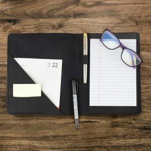 notes organizer z możliwością własnego nadruku