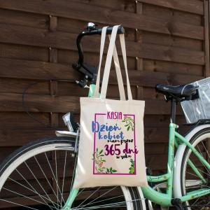 ekologiczna torba z nadrukiem na prezent