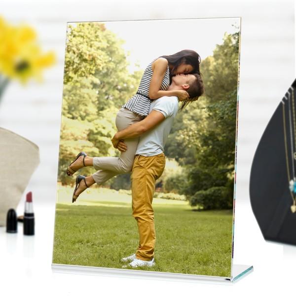 ramka z nadrukiem zdjęcia na prezent dla mężczyzny
