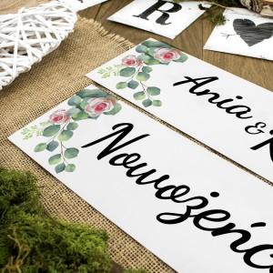 tablice ślubne personalizowane