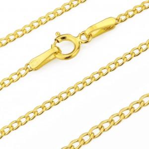 złoty łańcuszek 585 na prezent na komunię