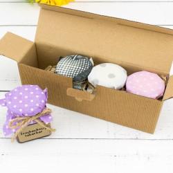 konfitury prezentowe w pudełku dla ukochanej