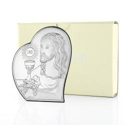 obrazek na komunię Pan Jezus z Hostią na pamiątkę