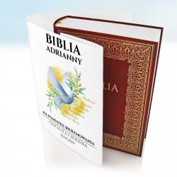personalizowana biblia na prezent na bierzmowanie dla dziewczyny