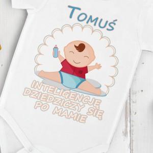 body personalizowane na prezent dla młodej mamy