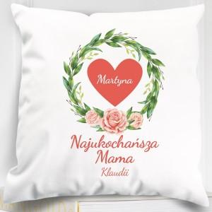 poduszka personalizowana na prezent dla mamy
