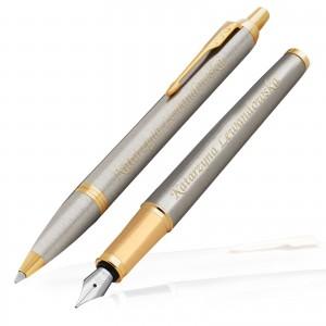 pióro i długopis Parker z grawerem