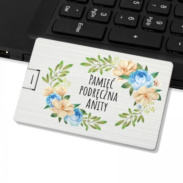 prezent dla przyjaciółki pendrive personalizowany pamięć podręczna