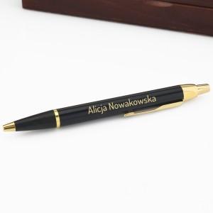 długopis z grawerem na prezent dla koleżanki z pracy