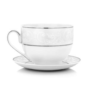 porcelanowa filiżanka do herbaty na prezent z okazji awansu
