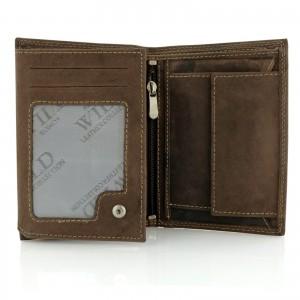 portfel skórzany męski brązowy na wyjątkowy prezent