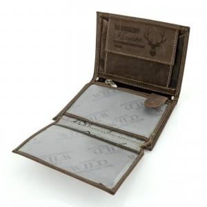 oryginalny prezent dla myśliwego portfel always wild z grawerem dedykacji