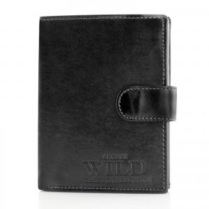 portfel męski always wild black na elegancki prezent dla myśliwego