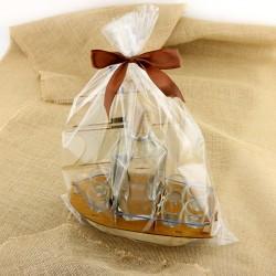 śmieszne prezenty dla wędkarza karafka z kieliszkami masztowiec
