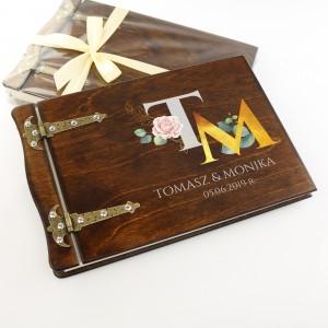 prezent ślubny personalizowany album do zdjęć